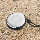 MOCREO Tictac Waterproof Portable Wireless Bluetooth Speaker w/ 3.5mm, Hands-free, Micro USB - Black