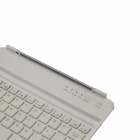 Fashion V3.0 Bluetooth 59-Keys Keyboard with Magnetic and Slot for IPAD MINI - Silver