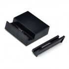 Magnetic Charging Dock Station w/ USB for Sony Xperia Z3 - Black