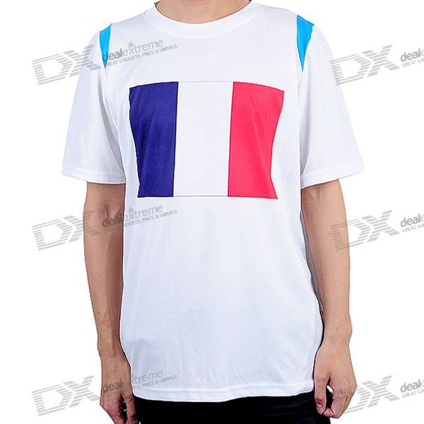 National Football/Soccer Team T-Shirt - France (XXL-Size)