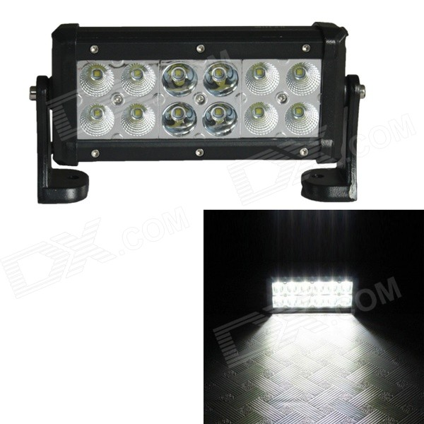 MT-36W 12 x 3W 2100lm 6500K LED Cool White Working Light Boating Lamp Hunting Car Light