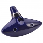 NEJE 12 Hole Ceramic Alto C Legend of Zelda Ocarina Flute - Blue