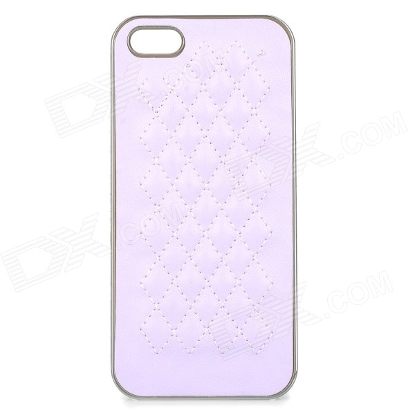 Protective ABS Back Case for IPHONE 5 / 5S - Light Purple ipega i5056 waterproof protective case for iphone 5 5s 5c light purple