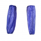 Thickened Acid-proof Oil-resistant PVC Working Safety Oversleeves / Sleevelets - Dark Blue (Pair)