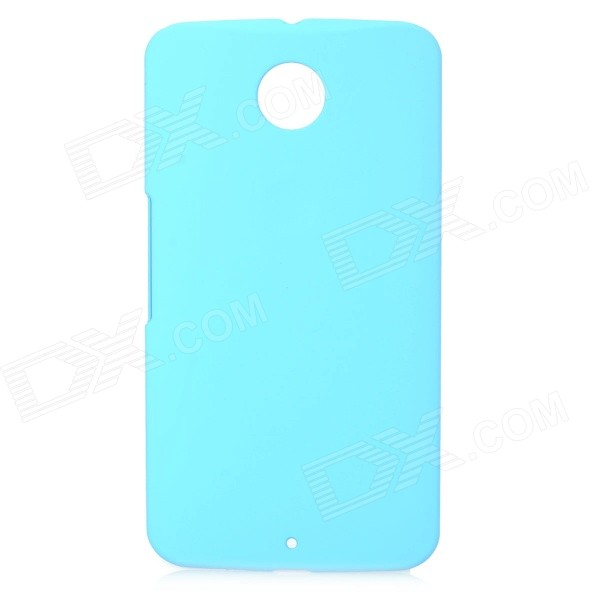 Protective PC Back Case for Google Nexus 6 - Blue