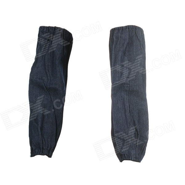 Cotton Denim Working Safety Oversleeves / Sleevelets - Dark Blue (Pair) napapijri guji check dark blue
