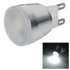 3W G9 150lm 5500K White Light 5630 SMD LED Bulb - White + Silvery Grey (AC 230V)