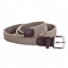 Acecamp 5102 Women's Fashionable Sports Elastic Pin Buckle PU Leather Belt - Khaki