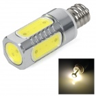 3W E12 650lm 2700K chaud COB White Light Ampoule LED (AC 85 ~ 265V)