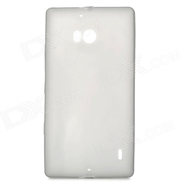 Protective TPU Back Case Cover for NOKIA Lumia 930 - Grey защитная пленка для мобильных телефонов 10pcs lot nokia lumia 930 for lumia 930