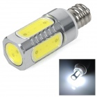 3W E12 650lm Cold White Light COB LED Bulb (AC 85~265V)