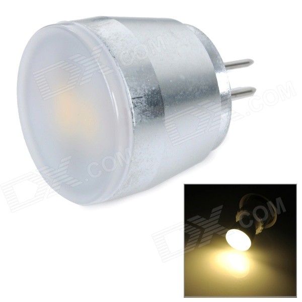 3W G4 150lm 2700K Warm White Light 5630 SMD LED Bulb - White + Silvery Grey (AC 230V) g9 3w 150lm 3500k 3 smd 5630 led warm white light bulb white silver 230v