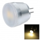 3W G4 150lm 2700K Warm White Light 5630 SMD LED Bulb - White + Silvery Grey (AC 230V)