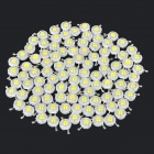 JR-LED 1W 90LM 7000K Cool White Licht LED-Emitter - Weiß + Gelb (3.0 ~ 3.2V / 100 PCS)