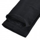 TOPCYCLING Recycling Sport Arm Elbow Support Oversleeve Arm Warmer - Black (Size M / Pair)