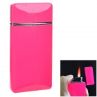 SYSH0084 Creative Zinc Alloy Butane Lighter - Deep Pink