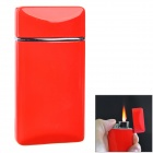 SYSH0084 Creative Butane Zinc Alloy Butane Lighter - Red