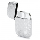 sysh0089 Creative Inflatable Windproof Zinc Alloy Butane Lighter - Silver