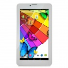 "7"" IPS Quad-Core Android 4.4 TD-SCDMA 3G Tablet PC w/ Dual-SIM, 8GB ROM, BT - White + Silver"