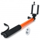 EOSCN ES-902 Mini Handheld Monopod w/ Bluetooth Remote Control for Camera and Cellphone - Orange
