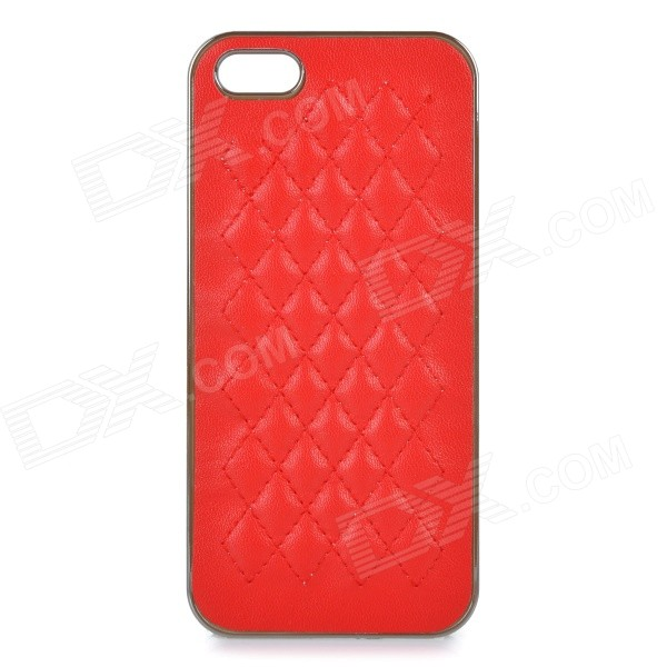 все цены на Protective ABS Back Case Cover for IPHONE 5 / 5S - Red онлайн