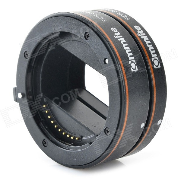 Commlite CM-PE-AFSM II ABS Extension Ring for Sony NEX 5, 3, 5N, 5R, A7, A7R, A7S - Black lens adapter ring suit for hasselblad to sony nex for 5t 3n nex 6 5r f3 nex 7 vg900 vg30 ea50 fs700 a7 a7s a7r a7ii a5100 a6000