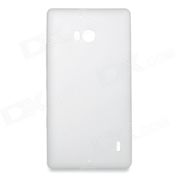 Protective TPU Back Case Cover for Nokia Lumia 930 - White защитная пленка для мобильных телефонов 10pcs lot nokia lumia 930 for lumia 930
