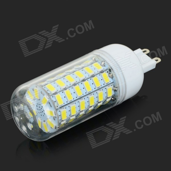 G9 10W 900lm 69-SMD 5730 LED Cold White Light Corn Lamp (AC 220~240V)