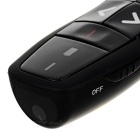 Wireless Remote Control Red Light USB 2.0 Laser Pointer - Black