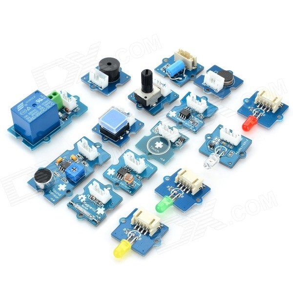 Electronic Building Block Module Kit w/ Expansion Board for Arduino