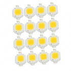 JRLED 10W 1000lm 3300K 9-LED Warm White Light Emitter Boards - White + Yellow (DC 10~11V / 16 PCS)