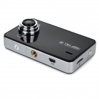 "2.4"" TFT 720P 120"" Wide-Angle LED Car DVR Video Recorder Camcorder"