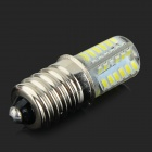 E14 3W 250lm 48-SMD 3014 LED Bluish White Corn Lamp (AC 220V)