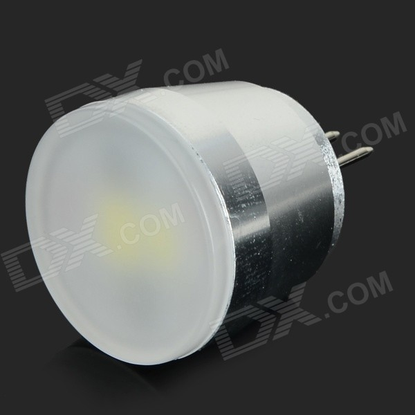 G4 3W 150lm 7000K 3-SMD 5630 LED White Light Bulb - White + Silver (AC 230V) g9 3w 150lm 3500k 3 smd 5630 led warm white light bulb white silver 230v