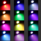 SingFire RGB Concert Party monitoimitulostin LED Torch Ultra kirkas Glow Light - White + musta (3 x AAA)