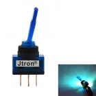 Jtron 12V Car DIY Toggle Switch with Blue LED Indicator - Blue
