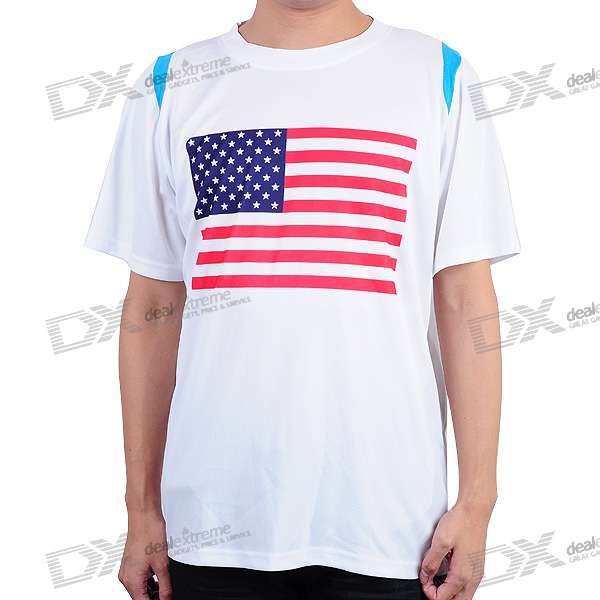 National Football/Soccer Team T-Shirt - America (XXXL-Size)