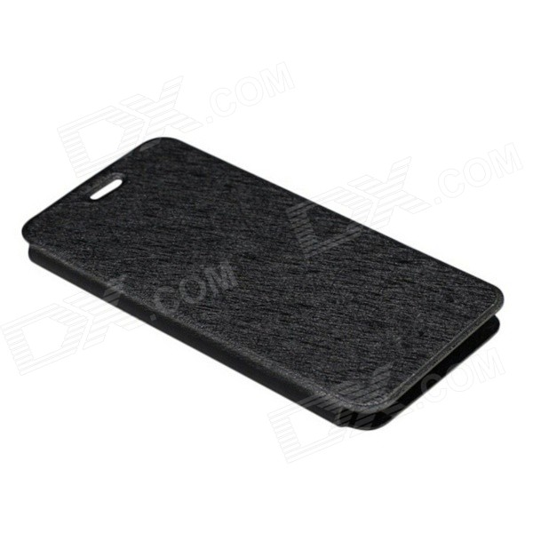 Protective PU Leather Case for DOOGEE DG800 - Black doogee protective pu leather case for doogee dg330 black