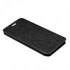 Protective PU Leather Case for DOOGEE DG800 - Black