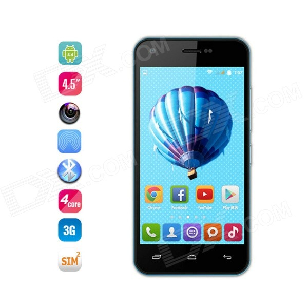 Iocean X1 Quad-core Android 4.4 WCDMA Phone w/ 4.5
