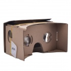 "NEJE SZ004-10 DIY Cardboard Virtual Reality 3D Glasses w/ NFC for 4~5.0"" Cellphones - Brown"