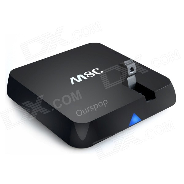 OURSPOP M8C RK3288 4K Quad-Core Android 4.4.2 Google TV Player w/ 2GB RAM, 8GB ROM, 5MP Camara, US лаки для ногтей с эффектами orly flash glam fx collection 468 цвет 468 rockets red glare variant hex name a4292b