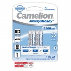 Camelion AlwaysReady Low Self-Discharge 2300mAh Ni-MH AA Rechargeable Battery (2 PCS)