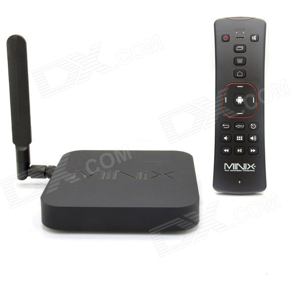 MINIX NEO X8-H Plus 2160P Quad-Core Android 4.4.2 Google TV Player w/ 16GB ROM, EU + A2 Air Mouse river island 676110