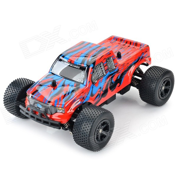 8804G 2.4GHz 1:16 Scale 3-CH High Speed Off-Road R/C Car - Red + Blue + Multi-Color nansheng 8807g 1 12 scale 3 ch 2 4ghz high speed r c cross country car silver black