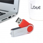 Ourspop U336 Rotating USB 2.0 Flash Disk - Red + Silver (16GB)