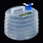 NatureHike Outdoor Camping Collapsible Folding Water Carrier Container - White (10L)