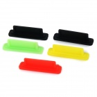 Silicone Anti-Dust plug para Interface LCD de GoPro Hero 1/2/3/3 + - multicolorida (5pcs)