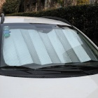 6-in-1 Car Windshield / Side Window UV / Heat Protection Sun Shield Sunshade Set - Black + Silver