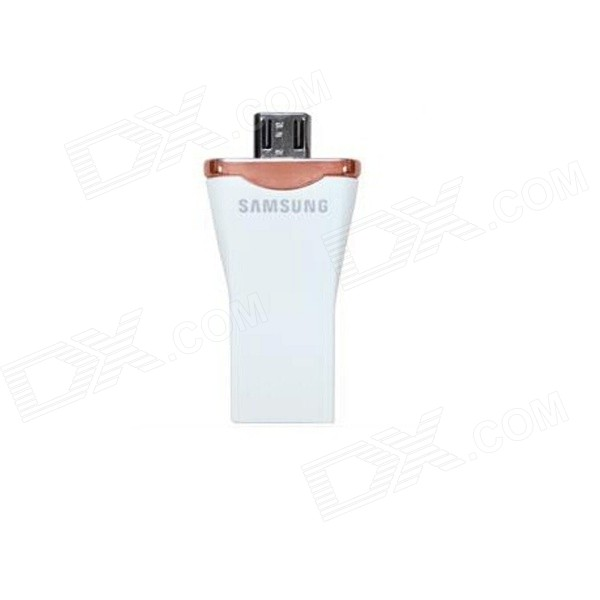 Samsung OTG Micro USB / USB 2.0 Flash Drive for Android Smartphones / Tablets - White (16GB)